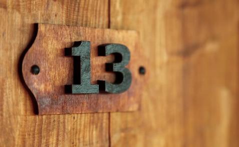 Superstitii nr. 13