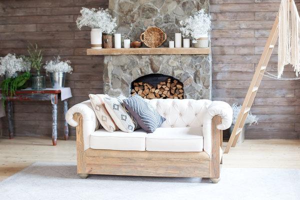 Design interior in stil rustic pentru apartamentele din Bucuresti Realkom imobiliare